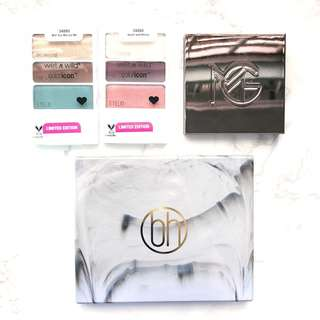Brand New Eyeshadow Palettes / Highlighter BH Cosmetics / Wet n Wild / Makeupgeek