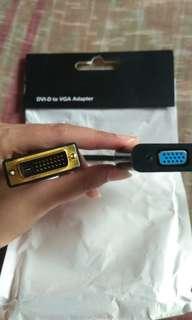 FLASH SALE DVI-D to VGA ADAPTER