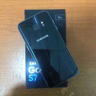 Samsung S7 Edge 32gb Black Sein Mulus Bisa Tt Alltype Hp