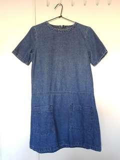Denim Tee dress