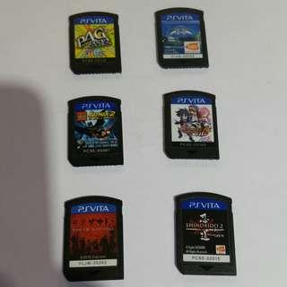 Ps Vita Game @ $15 each