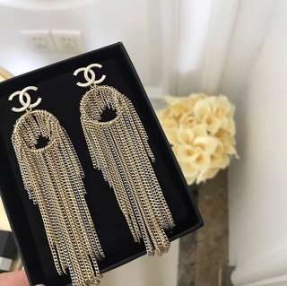 Chanel 2018SS earrings (品質取勝)