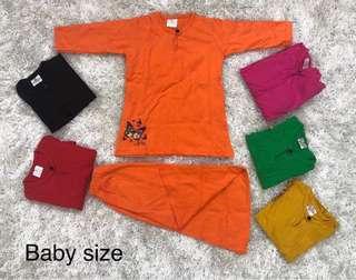 Baju kurung baby RM15/pcs