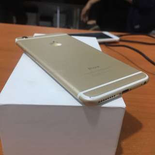 Iphone 6 Plus 64gb Gold Inter Zpa Bisa Tt Alltype Hp Yaw