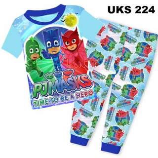 PJ Masks  Short Sleeve Pyjamas For (2 Yrs To 7 Yrs)