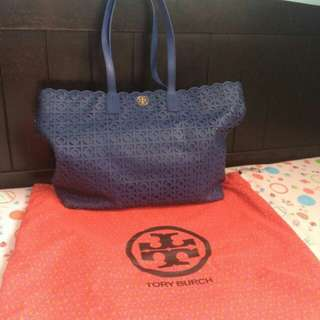 Auth Tory Burch tote bag
