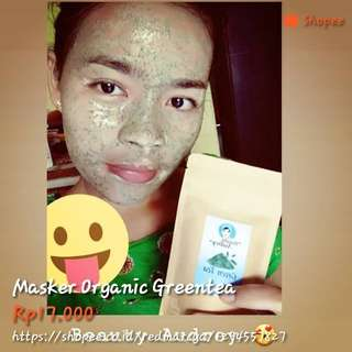 Masker Organic Green Tea