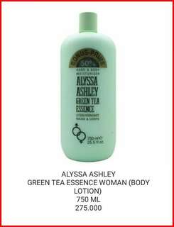 GREENTEA ESSENCE WOMAN BODY LOTION