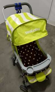 Seebaby stroller with free cushion