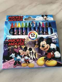 Mickey theme crayon- art and coloring goodies bag gift, goodie bag packages