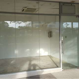 Commercial shop 161sqft for rent (road facing)