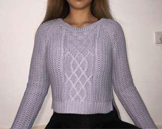 Knit sweater size XS