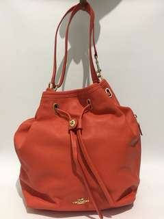 2nd Coach Drawstring Leather