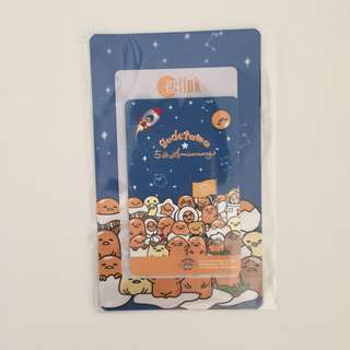 Gudetama 5th anniversary ezlink card