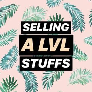 Selling Alvl Stuffs