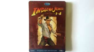 Bluray Disc  INDIANA JONES 1-4