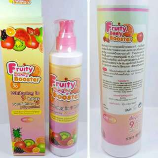 FRUITY BODY BOOSTER thailand PEMUTIH KULIT ORIGINAL