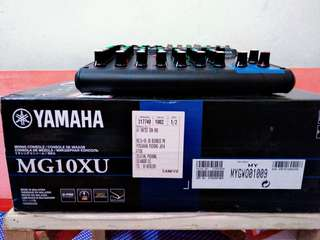 90% new CODY 8 channel & YAMAHA MG10XU 8 channel