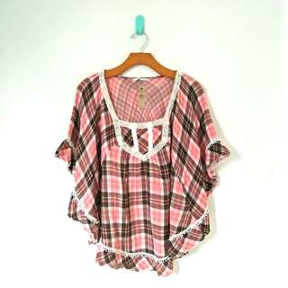 Indian Flanel Blouse