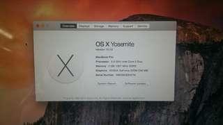 Macbook Pro 13.3 inch 2010
