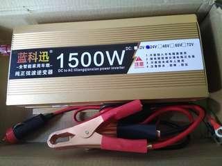 DC/AC Pure Sine Wave  Power Inverter - 24V