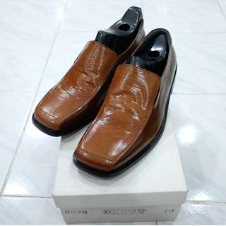NEW - Sin Lie Seng Shoes - Brown