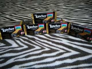 Loacker 37,5 gr. Dark Noir (Dark Chocolate)