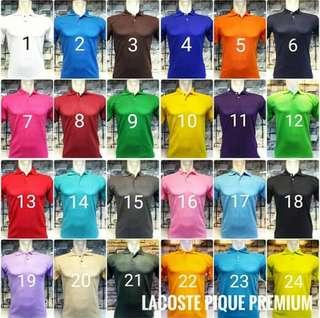 GROSIR Baju Kaos Polo Shirt (polos).