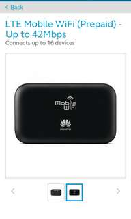 Globe pocket wifi 42Mbps