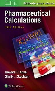 Pharmaceutical Calculations – 15th edition Latest Ed PDF copy