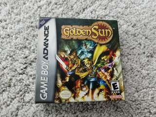 Golden Sun GBA Gameboy Advance Game