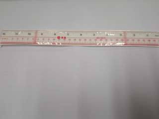 "12"" 30 cm ruler 膠間尺"