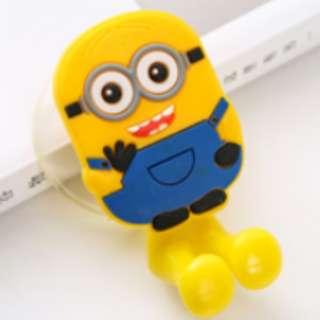 Cute Kawaii Creative Cartoon Toothbrush Holder Bathroom Wall Hanger Hook