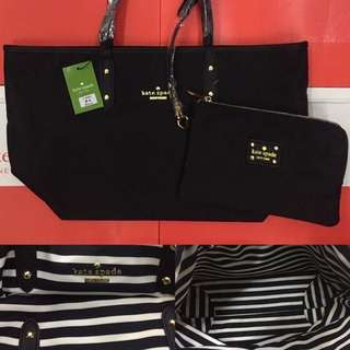 Sale!! Authentic Kate Spade Reversible Tote Bag