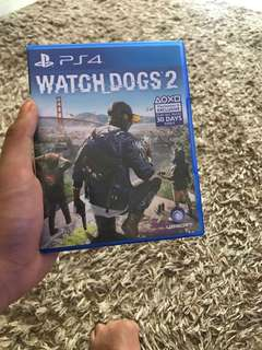 jual kaset ps 4 watch dogs 2