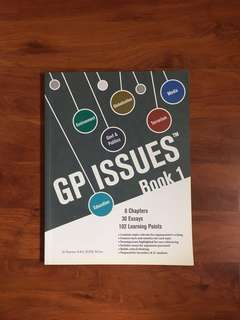 🚚 [WTS] GP Issues - Book 1 (JC Level)