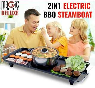 BBQ Steamboat Deluxe  In Stock