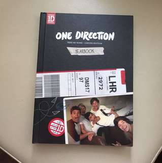 One Direction LIMITED EDITION Take Me Home yearbook