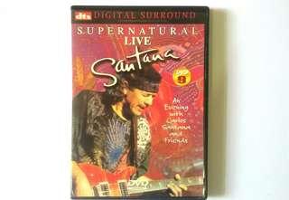 DVD-9  SANTANA Supernatural Live