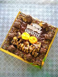 Brownies cake budget
