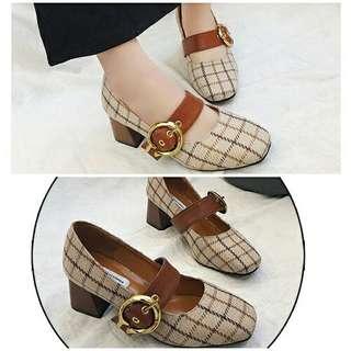 Sepatu Casual Wanita Cantik 5.5CM-SHS8090