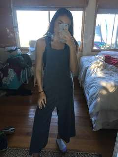 Dark grey jumpsuit