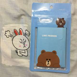 Line friends x Watson Brown 熊大面油紙