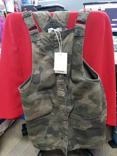 Pull & Bear jumpsuit army
