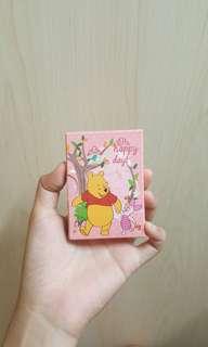 🚚 Winnie the pooh 小熊維尼家族 迷你筆記本
