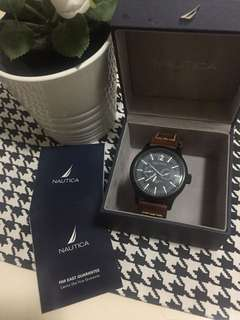 Jam Nautica Kulit - Nautica Watch Leather