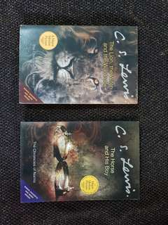 Chronicles of Narnia Book 2 & 3 by CS Lewis
