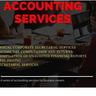 Accounting Services - Full compilation package