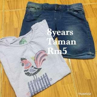 Shirt & Pants Girl