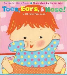 Karen Katz Toes, Ears & Nose !
